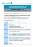 Programa VIII Sessió en Innovació en dependència