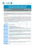 Programa VI Sessió Tècnica en Innovació en Treball Social