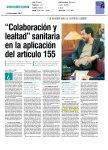 'Colaboración y lealtad sanitaria en la aplicación del artículo 155'