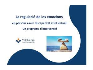 DEP La regulació de les emocions - Villablanca Serveis Assistencials