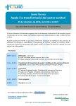Programa sessió tècnica 25 de setembre