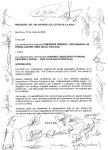Document preacord Conveni de la XHUP, signat el 28 de març de 2006 per patronals del sector sanitari i social i sindicats