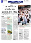 Los médicos se rebelan contra Boi Ruiz
