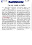 La Vanguardia editorial Hacia el copago sanitario