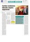Diario Médico Cambiar condiciones laborales requiere negociación