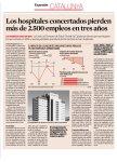 Expansión - Los hospitales concertados pierden más de 2.500 empleos en tres años