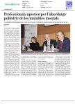 Gaceta Médica - Professionals aposten per l'abordatge polièdric de les malalties mentals