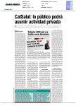 Diario Médico - CatSalut: lo público podrá asumir actividad privada
