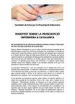 Manifest conjunt prescripció infermera