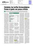 Correo Farmacéutico - Cataluña: las tarifas farmacológicas frenan el gasto con pocas críticas