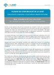 Programa Plenari de Comunicació, 13 de juliol