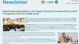 Newsletter de la Sessió en Innovació 'Compartim el que fem en treball social'