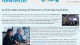 Newsletter de la VII Jornada Associativa de La Unió