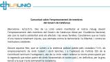 Comunicat sobre l'empresonament de membres del Govern de Catalunya