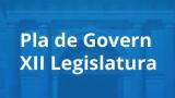 S'aprova el Pla de Govern de la XII legislatura