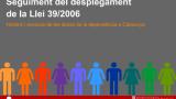 Publicades les dades de dependència de Catalunya del segon trimestre de 2018
