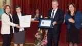 L'Hospital Sagrat Cor de Martorell de Germanes Hospitalàries rep el Segell d'Excel·lència EFQM 400+