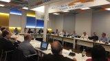 Els membres de la Junta Directiva homenatgen a Jordi Calsina
