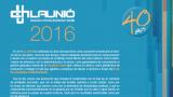 La memòria 2016 de La Unió ja es pot llegir en castellà