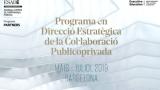 Nova edició del Programa en Direcció Estratègica de la Col·laboració Publicoprivada d'ESADE, amb descompte per als associats a La Unió