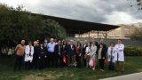 Professors i alumnes de la Universitat d'Alabama de Birmingham visiten La Unió per conèixer la realitat del sistema sanitari català