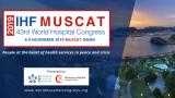 Disponibles les entrades anticipades per al 43è Congrés Mundial d'Hospitals