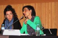 Marta Salvany i Anna Carrió (dintre)_V Jornada Salut Mental