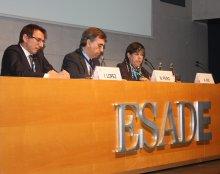 V Jornada Associats Col·laboradors, Helena Ris, Manel Peiró, Ignasi López, ESADE
