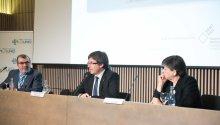 Carles Puigdemont felicita la feina feta per La Unió i reconeix la diversitat del model