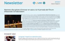 Newsletter Jornada Fòrum Associats Col·laboradors