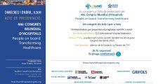 1 d'abril, acte de presentació del 44è Congrés Mundial d'Hospitals (WHC)