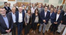 Adrià Comella assisteix a la Junta Directiva de La Unió