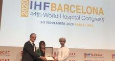 La Unió agafa el relleu al Congrés de Muscat per la posada en marxa del 44è Congrés Mundial d'Hospitals 2020 a Barcelona
