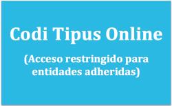 accés codi tipus online castellà