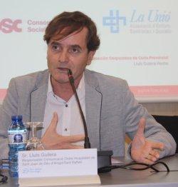 Lluís Guilera, jornada Ebola