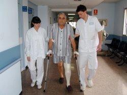 Pacient que ha seguit el programa Rapid Recovery durant la recuperació