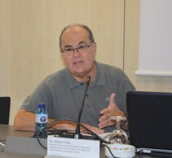 Antoni Trilla, jornada Ebola