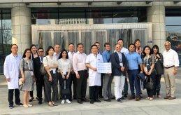 Participació a l'Hospital Management Asia 2018, Xina