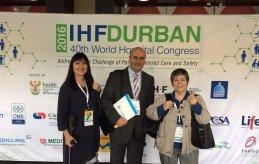 Els associats a La Unió, al 40è Congrés Mundial d'Hospitals 2016
