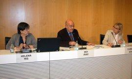 VI Jornada d'Innovacions Infermeres, Boi Ruiz, Helena Ris, Carmen Díaz