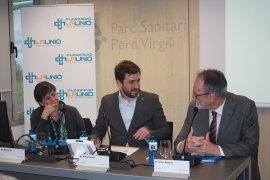 Assemblea General abril 2016, Enric Mangas, Helena Ris, Toni Comín