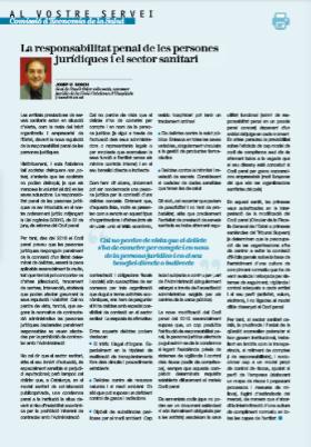 Revista Tècnica de les Comissions i Grups de Treball del Col·legi d'Economistes de Catalunya, Josep Maria Bosch