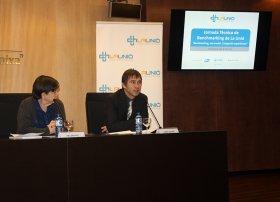 Helen a Ris i Jordi Ferre, Jornada Tècnica de Benchmarking de La Unió