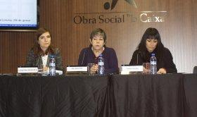 Plenari de Comunicació, Cristina Aragüés, Anna Riera, Helena Ris