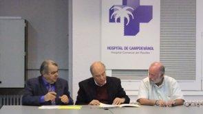 Acord entre l'Hospital de Campdevànol i la UVic-UCC per potenciar la docència i la recerca