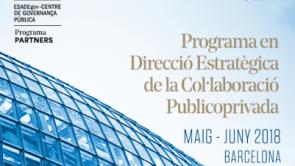 Darreres places pel Programa de Direcció Estratègica de la Col·laboració Públicoprivada d'ESADE