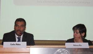 II Jornada Col·laboració Publicoprivada, Helena Ris i Carles Núñez