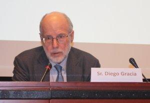 Diego Gracia, director acadèmic de la Fundación Xavier Zubiri