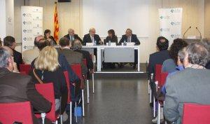 Andreu Mas-Colell a l'Assemblea General de 2014