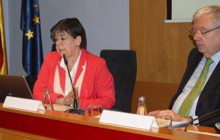 Assemblea maig 2015, Helena Ris, Manel Jovells,